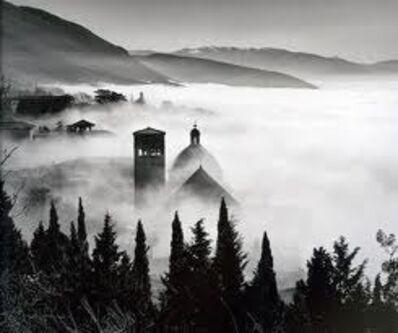 Elio Ciol, 'Paesaggio evanescente - Evanescent Landscape - Assisi', 2009