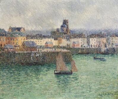 Gustave Loiseau, 'L'avant port de Dieppe', 1903
