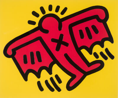 Keith Haring, 'Icons 4.', 1990