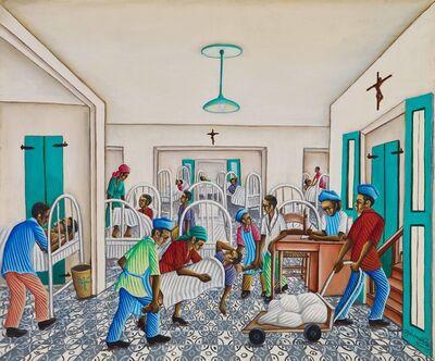 Gerard Valcin, 'Patients in Hospital', ca. 1965