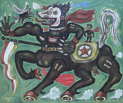 Heri Dono, 'The Flag's Carrier', 2017