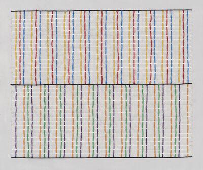Alejandro Puente, 'Sistema cromático,', 1971