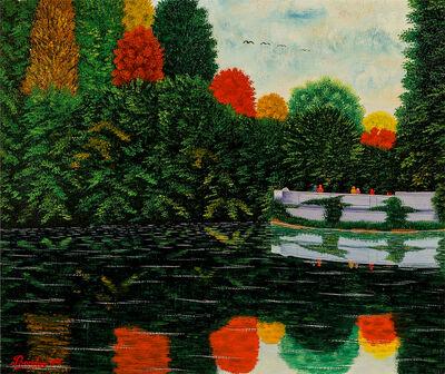 Camille Bombois, 'Reflets d'Automne - Autumn Reflections', 1930