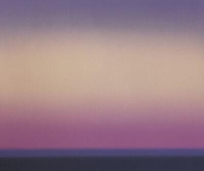 Wayne Viney, 'Sea at Dusk 5 (study)', 2017
