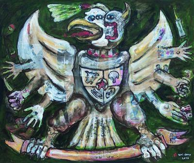 Heri Dono, 'The Garuda', 2016
