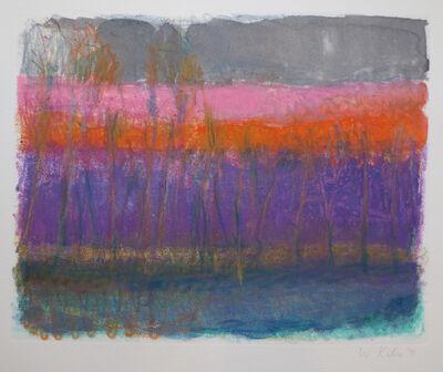 Wolf Kahn, 'Dark Gray Sky', 1991