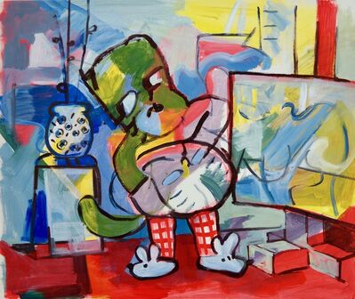Orestes Hernández Palacios (CU), 'A Painter', 2017