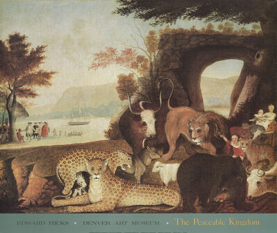 Edward Hicks, 'The Peaceable Kingdom', 1989