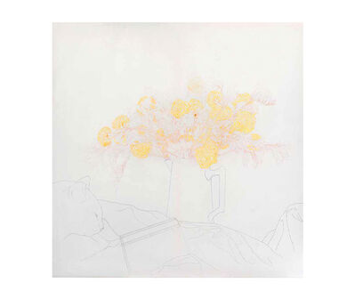 Delia Cancela, 'B en jaune', 2012