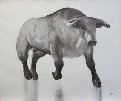 William Beckman, 'Charging Bull', 2017