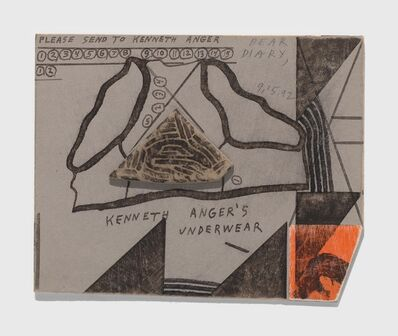 Ray Johnson, 'Untitled (Kenneth Anger's Underwear', 1992