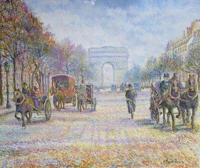 Hugues Claude Pissarro, 'Les Fiacres de l'Étoile', 21st century
