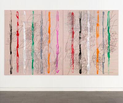 Laurent Ajina, 'Flaming Waterfall', 2020