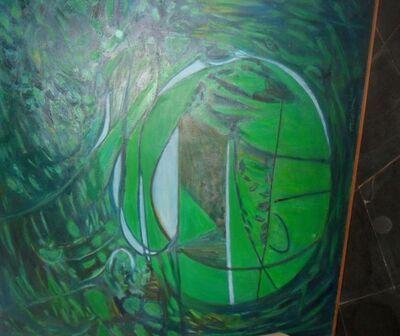 Alberto Teixeira, 'Orquestração  com verde para lili', 2001