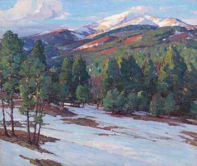 Aldro Thompson Hibbard, 'Signs of Spring in the Mountains', 20th Century