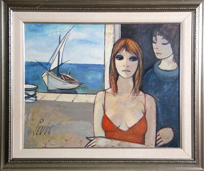 Charles Levier, 'Femmes dans un Port', ca. 1970