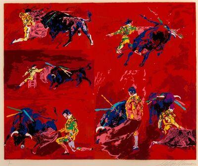 LeRoy Neiman, 'Red Corrida', 1974