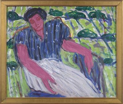 Stephen Pace, 'Woman Under Arbor (66-4)', 1966