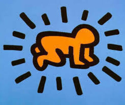 Keith Haring, 'Icons-Radiant Baby', 1990