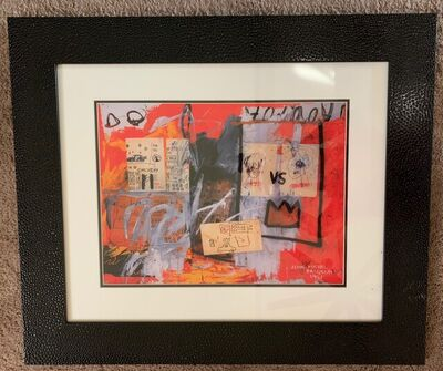 Jean-Michel Basquiat, 'Untitled (Red Abstract Collage)', 1981