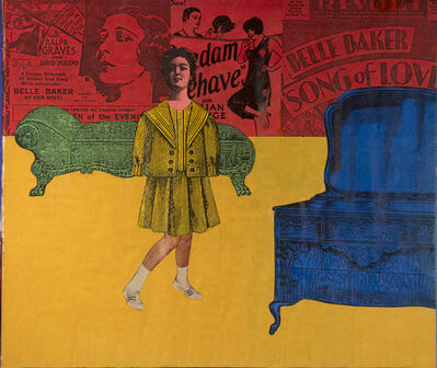 Larry Lewis, 'Untitled (Belle Baker)', ca. 1970