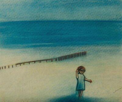 Robert Dickerson, 'Girl on a Beach', ca. 1970