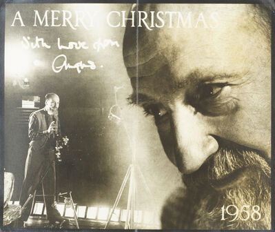 Angus McBean, 'Christmas Greetings card', 1964