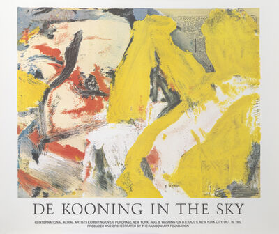 Willem de Kooning, 'In the Sky', 1982