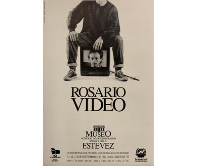 Norberto Puzzolo, 'Rosario Video. Jornadas de video argentino el Museo Estévez', 1991