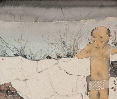 Liu Qinghe, 'Man by The Wall', 2019