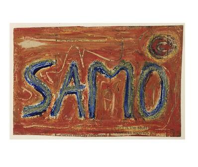 Jean-Michel Basquiat, 'Untitled, Samo Postcard ', ca. 1979