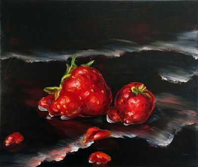 Cornelius Völker, 'Strawberries', 2018