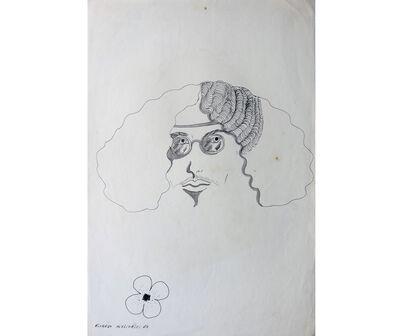 Ricardo Migliorisi, 'Rostro de hombre con lentes', 1969