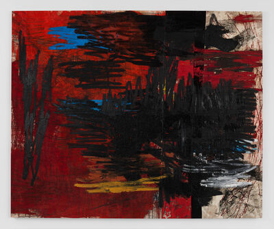 Oscar Murillo (b. 1986), 'manifestation', 2018-2019