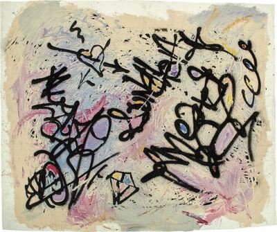 Fab 5 Freddy (Fred Brathwaite), 'Tags/Drawing', 1984