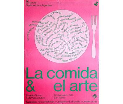 Margarita Paksa, 'Comida & Arte', 1983