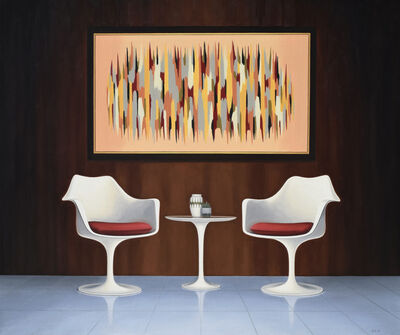 Danny Heller, 'Tulip Chairs and Painting ', 2019