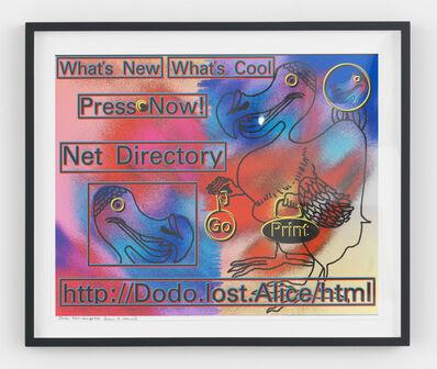Lillian Schwartz, 'Dodo.Lost.Alice', 1984