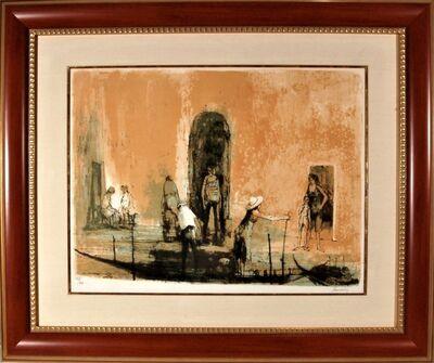 Jean Jansem, 'Les Quais a Venise', 1966