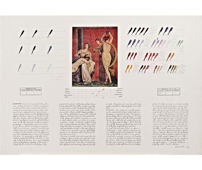 "Osvaldo Romberg, 'Analysis of ""Scenes of a Dionysian Mystery Cult"" (50 B.C.) (Pompeii)', 1979"
