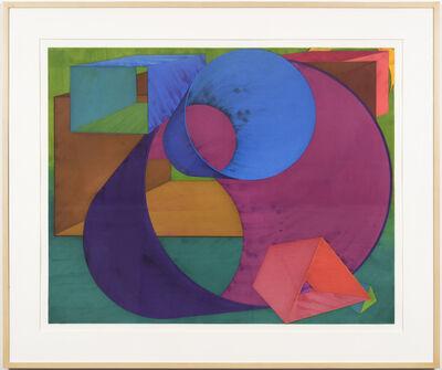 Al Held, 'Indigo ', 1990