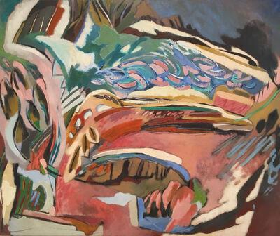 Olivia Stanton, 'Landscape Pink and Green', 1995