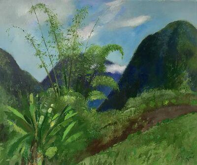 Rene Genis, 'Nuages dans les bambous', 1985