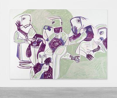 Melike Kara, 'walk on history', 2017