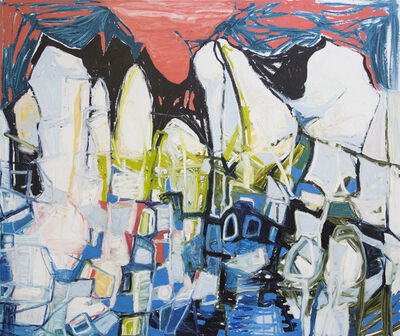 Janaina Tschäpe, 'Mountain Blanket', 2015