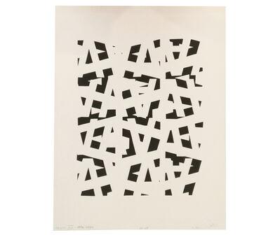 Clemente Padín, 'Texto XX', 1970-1984