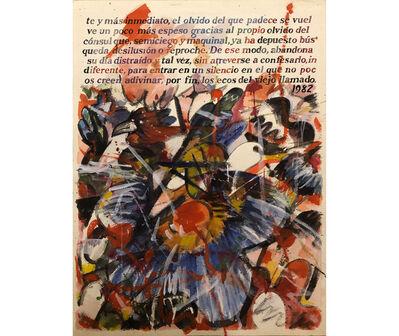 Juan Pablo Renzi, 'Página 6', 1982