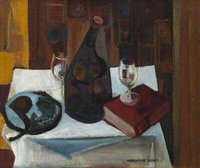 Marguerite Thompson Zorach, 'Nature morte aux verres', NA