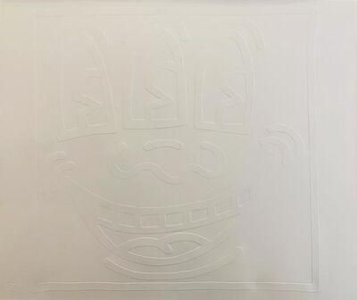 Keith Haring, 'White Icons (E) - Three Eyed Man', 2002