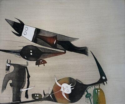 Wifredo Lam, 'Lames de Lam 5', 1977